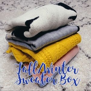 Fall/Winter Mystery Sweater Box